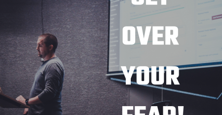 Getting over your fear of public speaking
